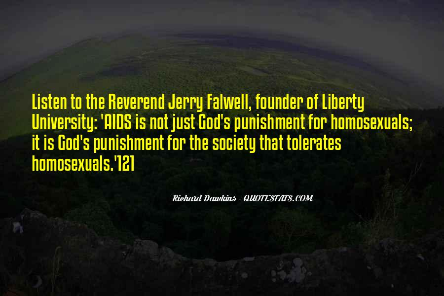 Punishment From God Quotes #376624