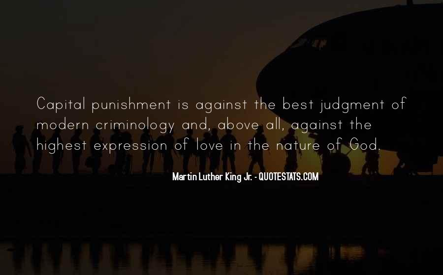 Punishment From God Quotes #502763
