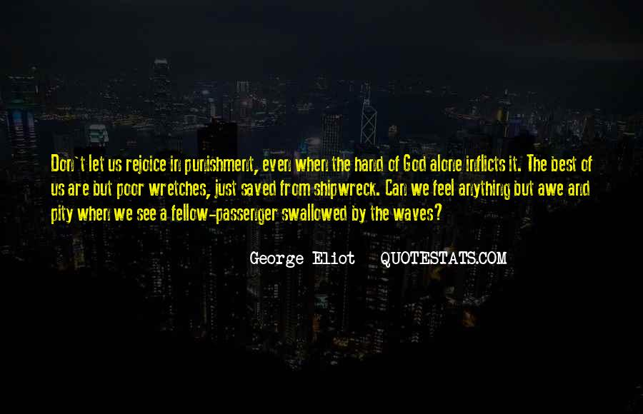 Punishment From God Quotes #710210