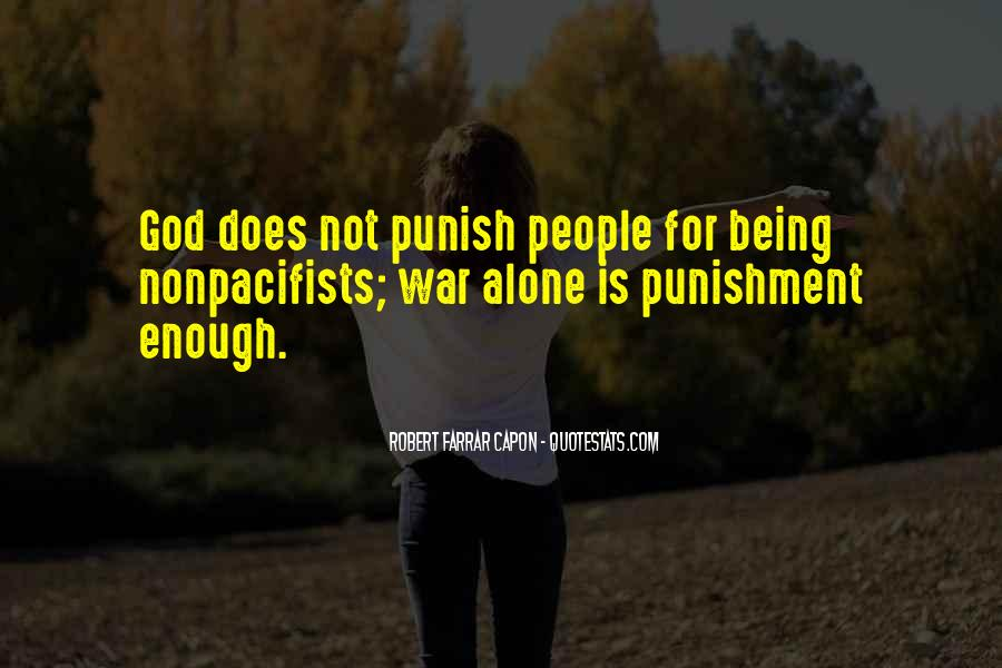 Punishment From God Quotes #726856