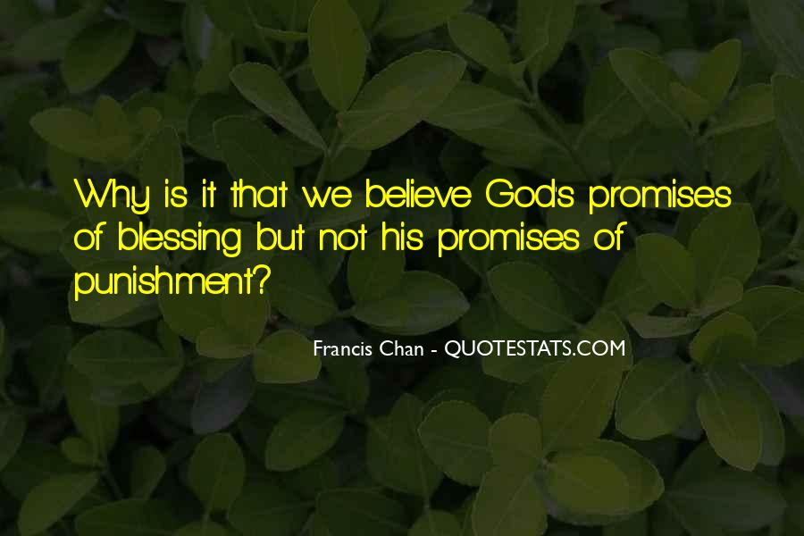 Punishment From God Quotes #763804