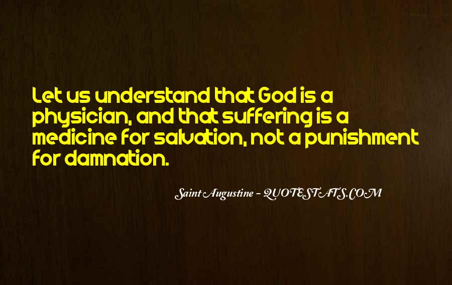 Punishment From God Quotes #776816