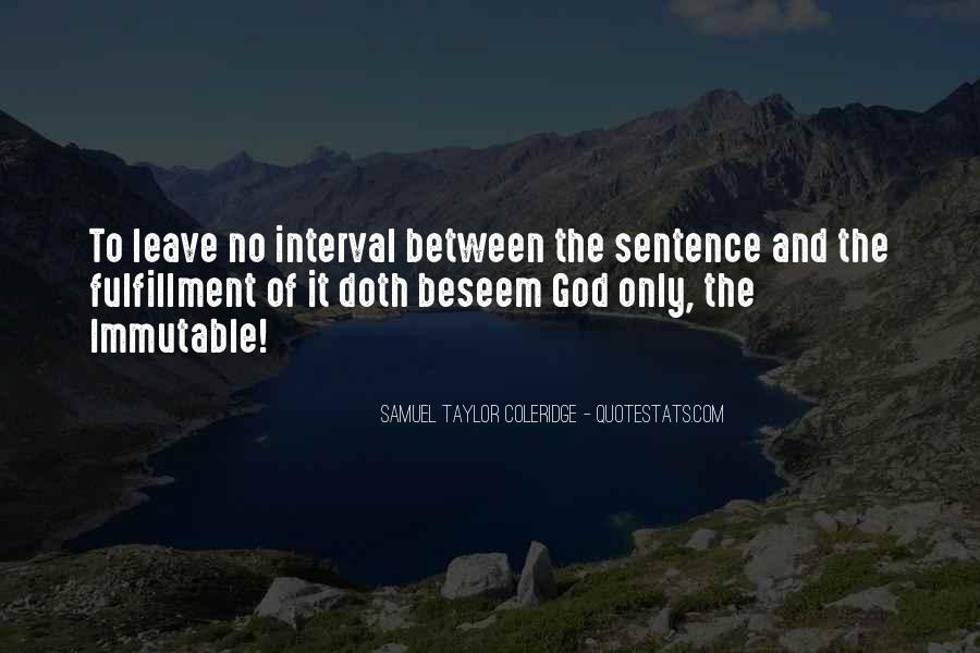 Punishment From God Quotes #848797
