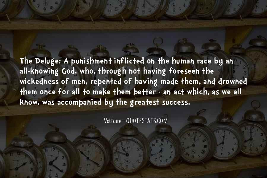 Punishment From God Quotes #886371