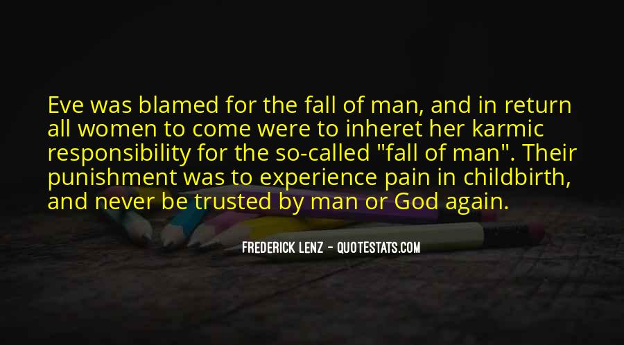 Punishment From God Quotes #912942