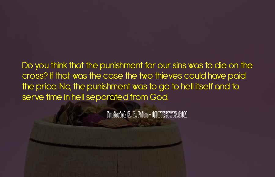Punishment From God Quotes #955172