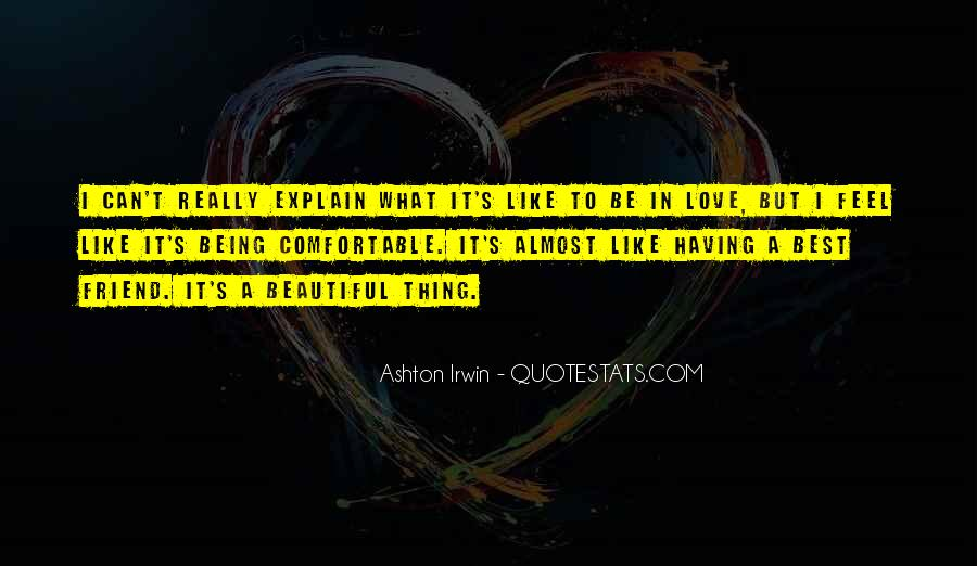 Quotes About Ashton Irwin #501697