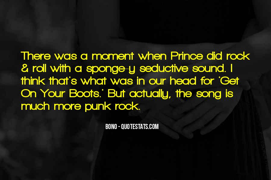 Punk Rock Song Quotes #262722