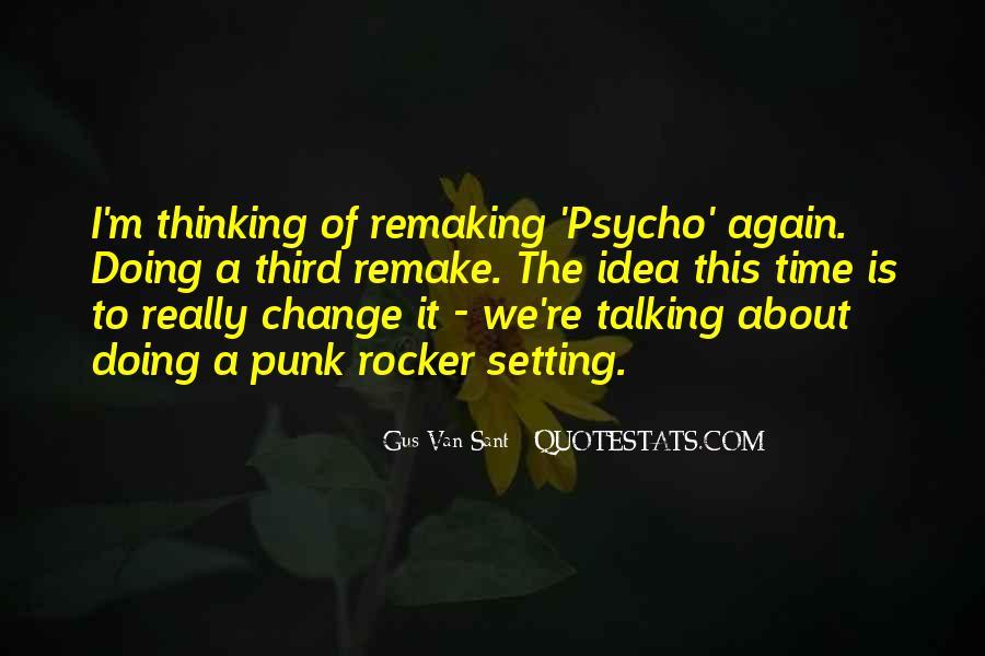 Punk Rocker Quotes #1309755