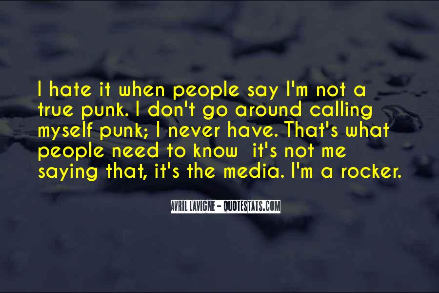 Punk Rocker Quotes #1427159