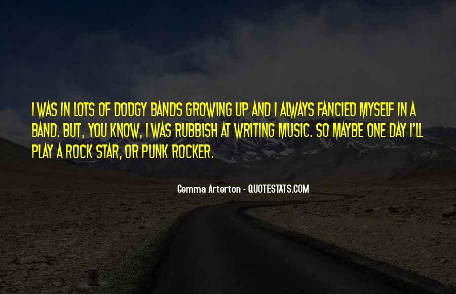 Punk Rocker Quotes #541081