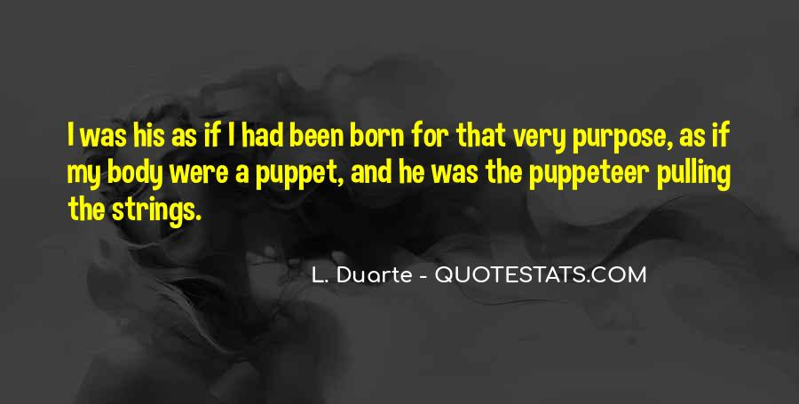 Puppet On Strings Quotes #1107396