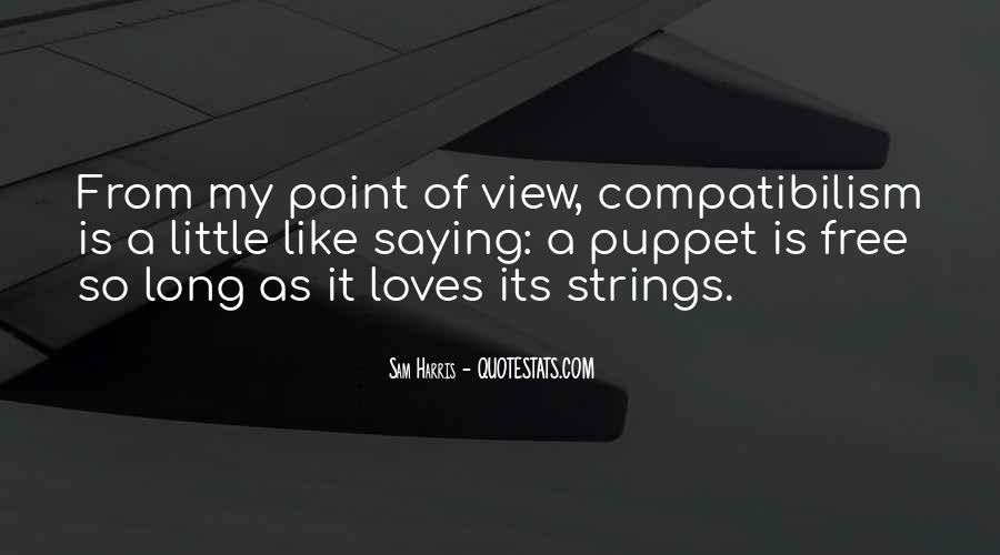 Puppet On Strings Quotes #1274369