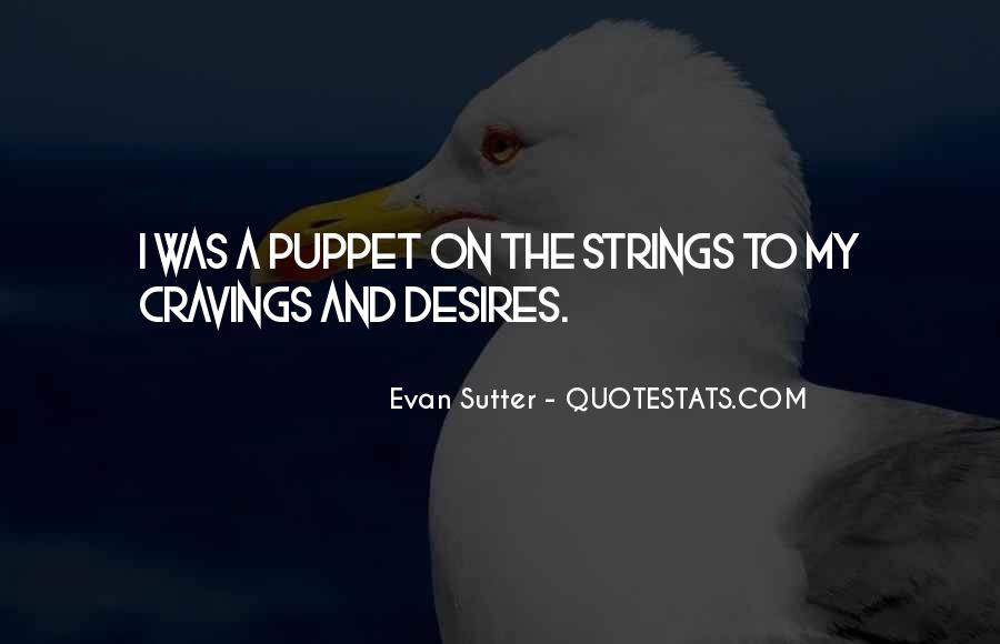 Puppet On Strings Quotes #1305123