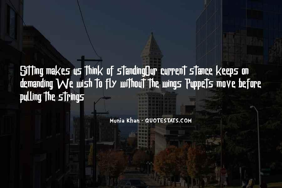 Puppet On Strings Quotes #1560057