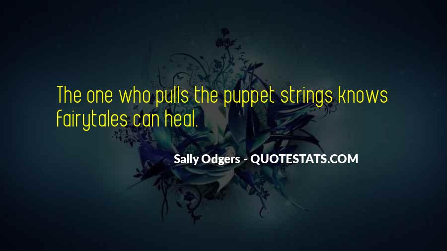 Puppet On Strings Quotes #36954