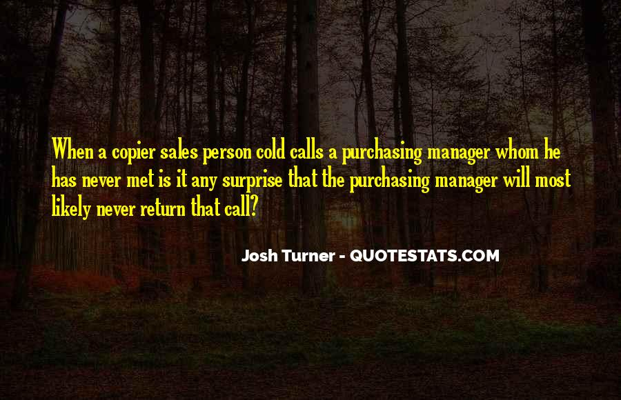 Purchasing Manager Quotes #38086