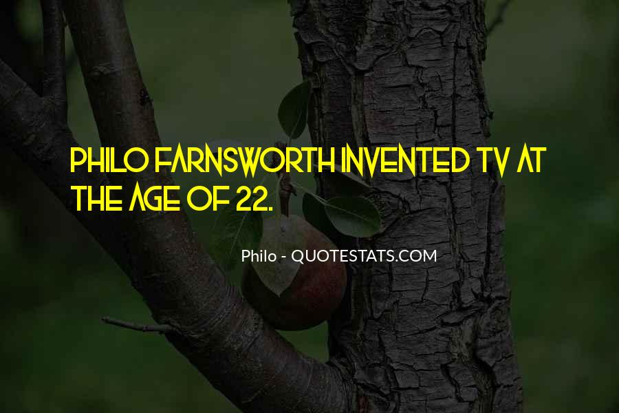 Quotes About Philo Farnsworth #412049