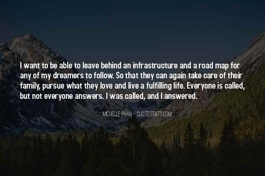 Pursue Love Quotes #1456795