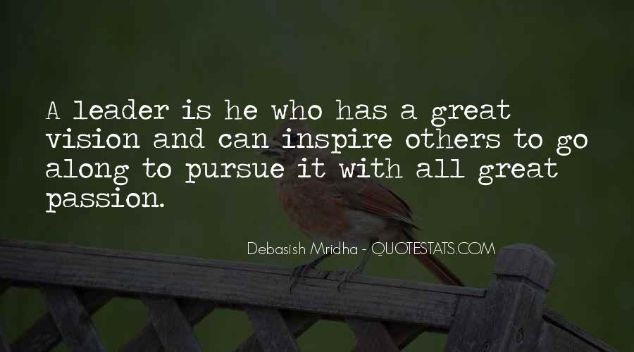 Pursue Love Quotes #1559721