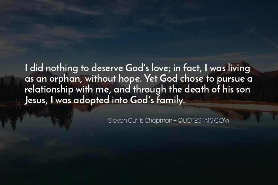 Pursue Love Quotes #224761
