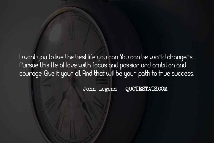 Pursue Love Quotes #630383