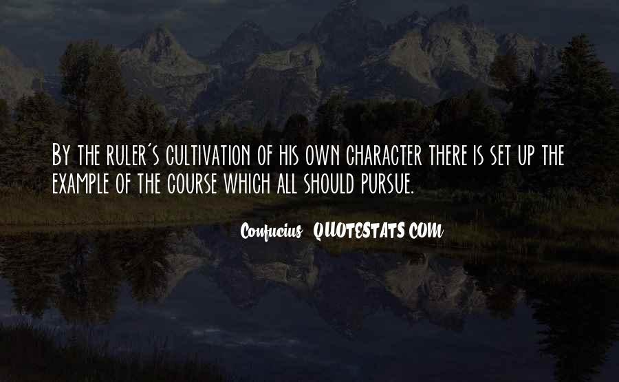 Pursue Love Quotes #755499