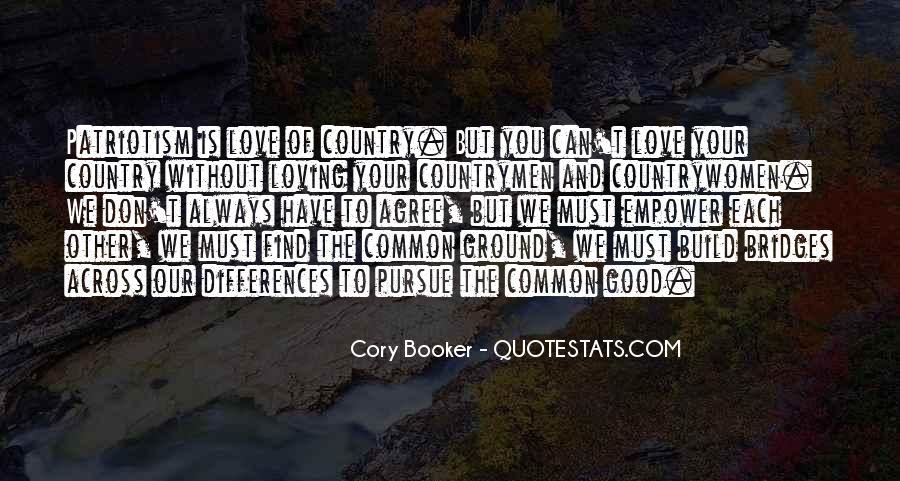 Pursue Love Quotes #948089