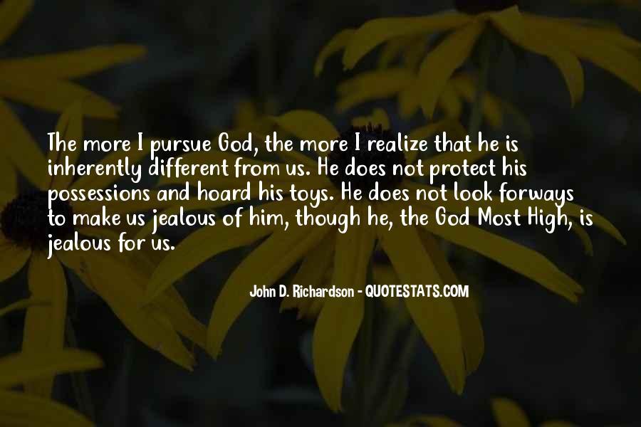 Pursue Love Quotes #995141