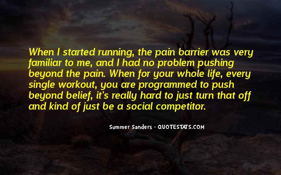 Pushing Through Workout Quotes #1530273