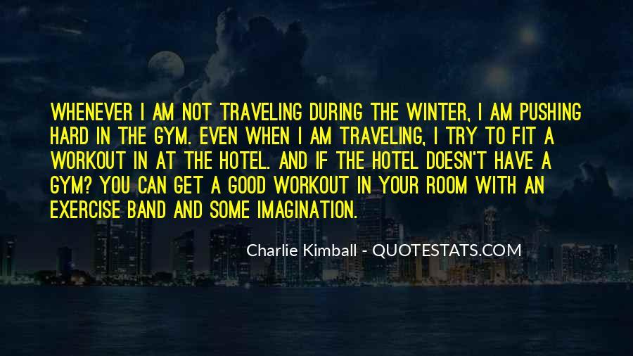 Pushing Through Workout Quotes #1623193