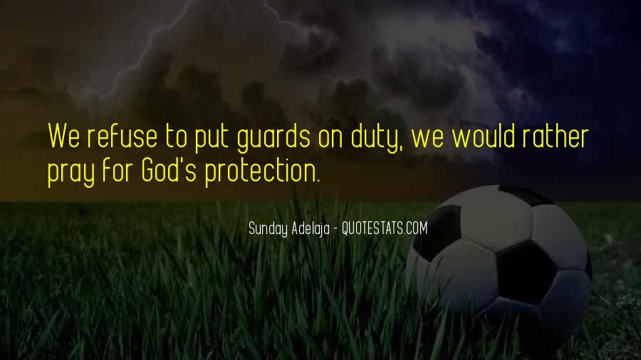 Put Your Guard Up Quotes #1796312