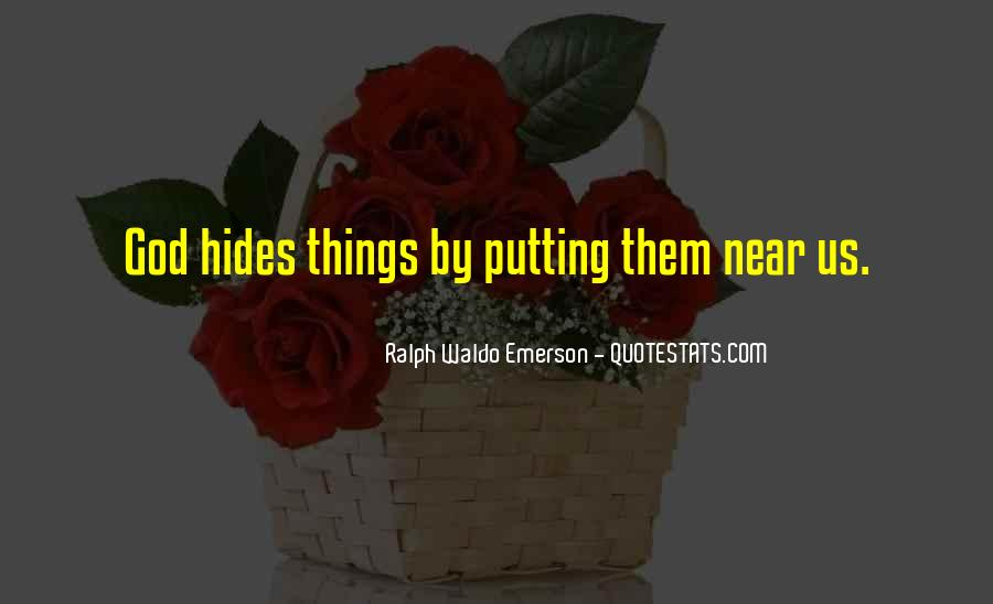 Putting Things Right Quotes #275321