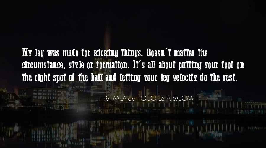 Putting Things Right Quotes #587968