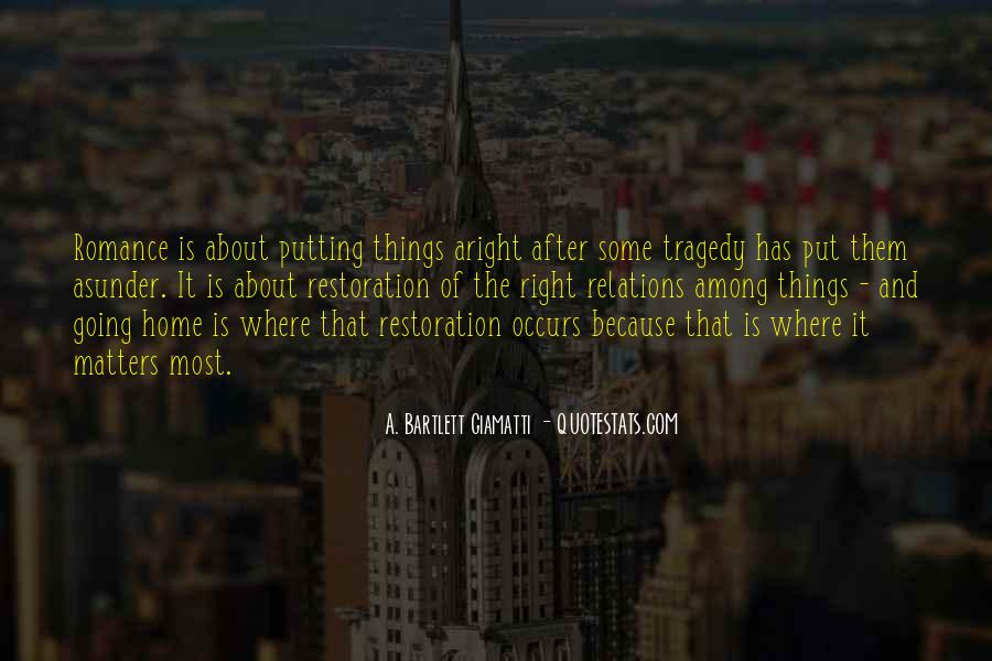 Putting Things Right Quotes #6037