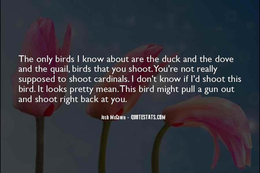 Quail Bird Quotes #250449