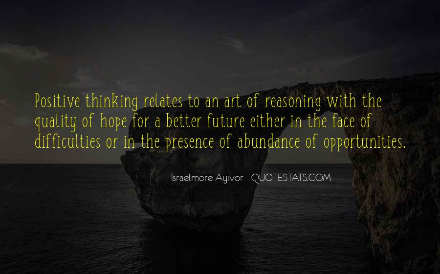 Quality Of Thinking Quotes #1091240
