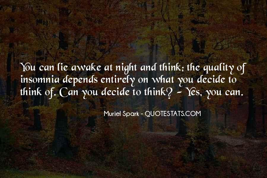 Quality Of Thinking Quotes #1305121