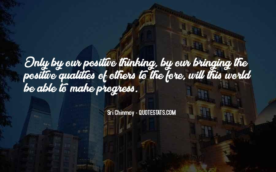 Quality Of Thinking Quotes #1398413