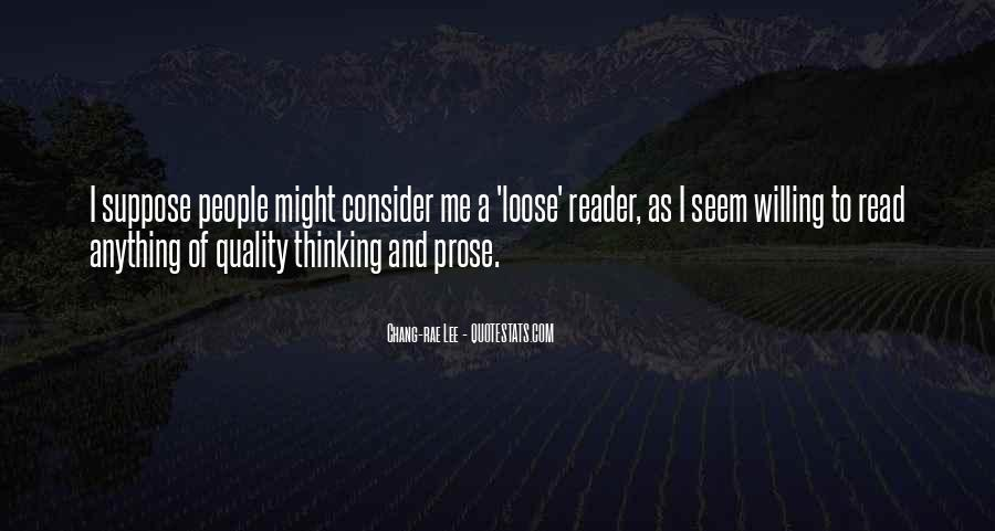 Quality Of Thinking Quotes #161399