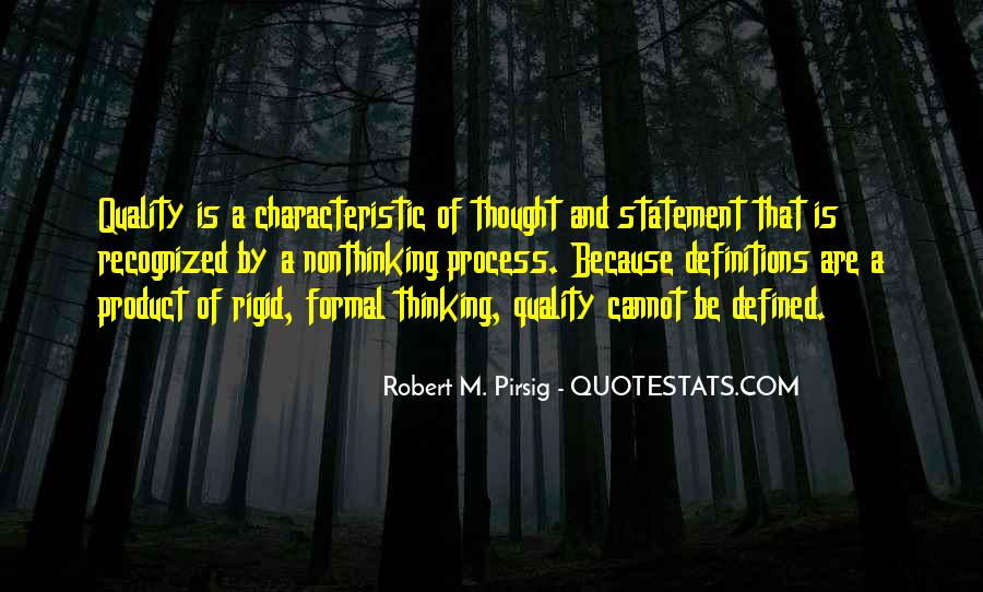 Quality Of Thinking Quotes #654710