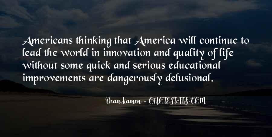 Quality Of Thinking Quotes #7323