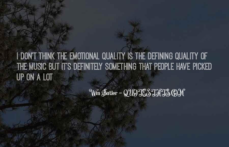Quality Of Thinking Quotes #873881