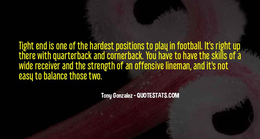 Quarterback And Receiver Quotes #1139952