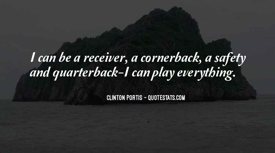 Quarterback And Receiver Quotes #1210673