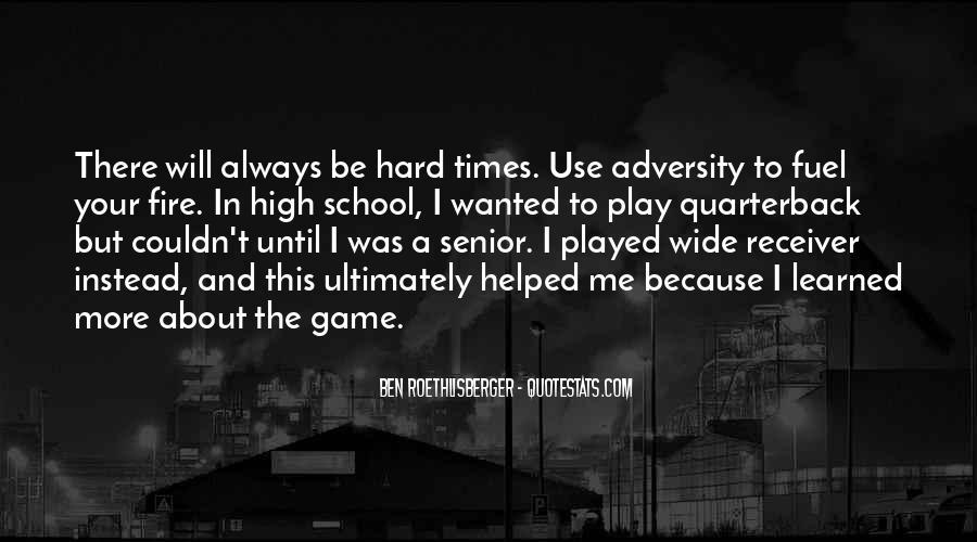 Quarterback And Receiver Quotes #167335