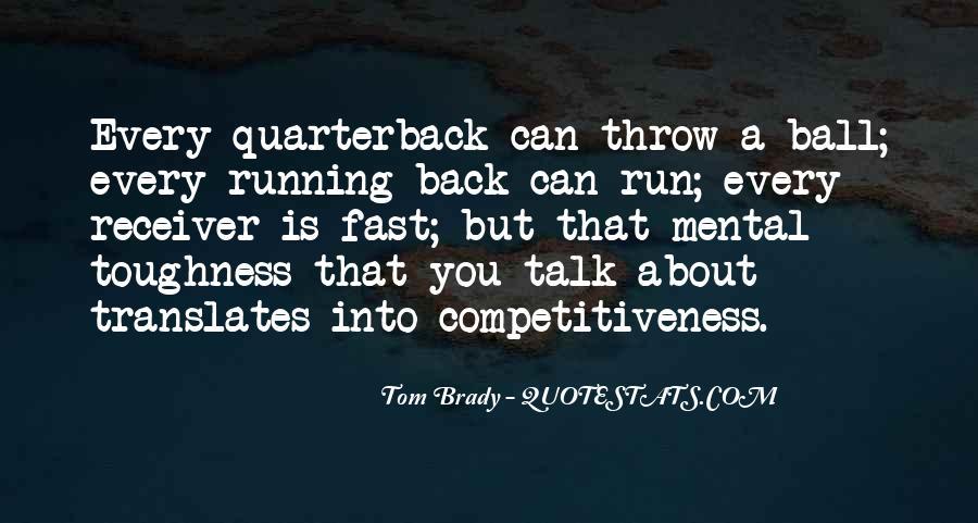 Quarterback And Receiver Quotes #251393