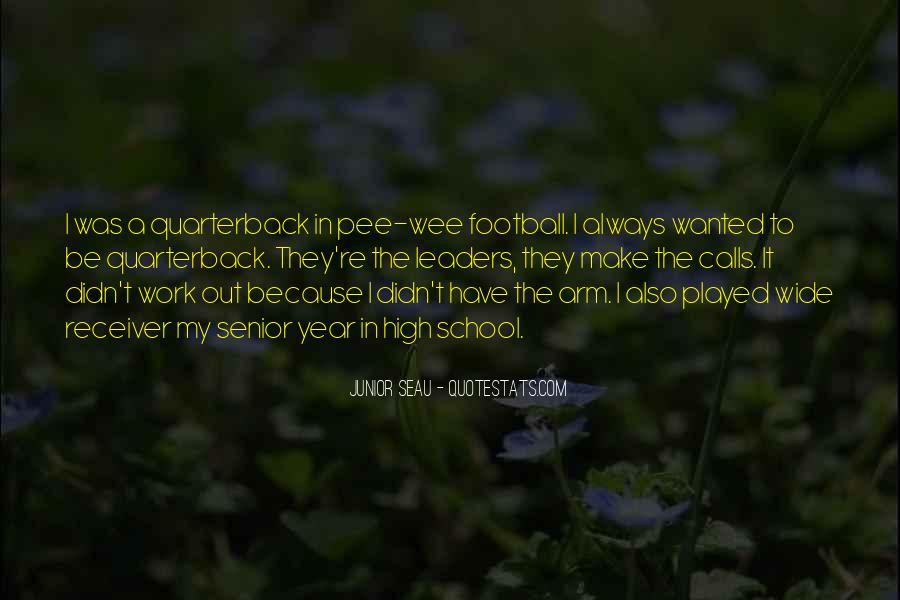 Quarterback And Receiver Quotes #321950
