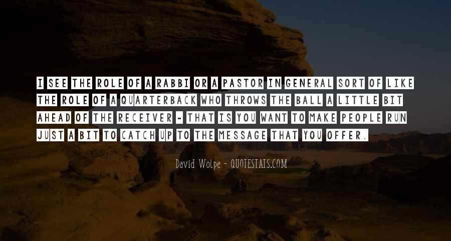 Quarterback And Receiver Quotes #617979