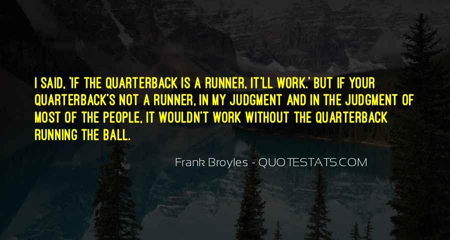 Quarterback Quotes #101978